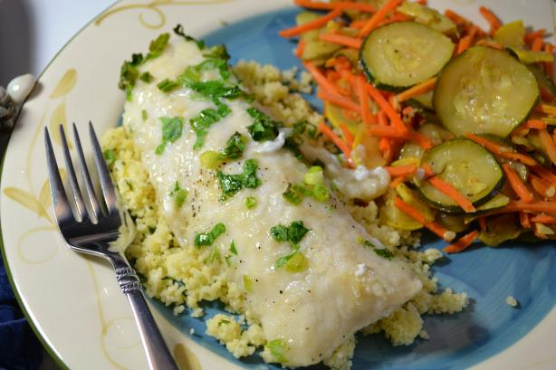 Haddock Fillets in White Wine