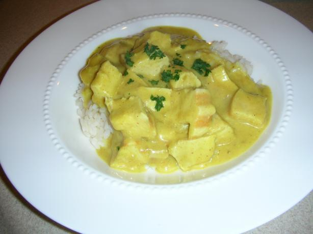 Mom's Chicken Curry