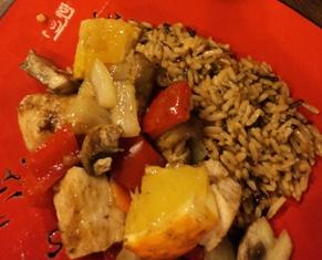 Orange Curry Chicken from the House of Rice