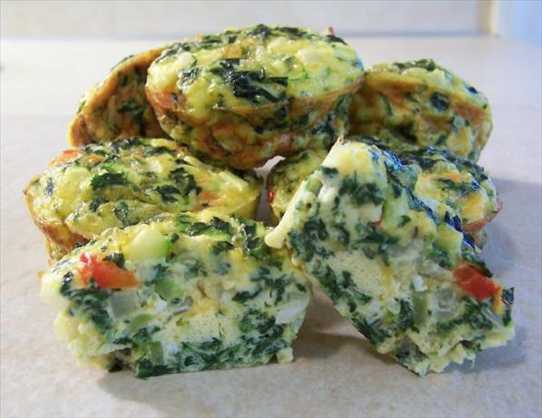 Vegetable Quiche Cups -SBD-