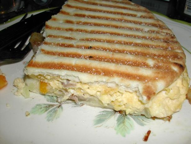 Denver Omelet Panini