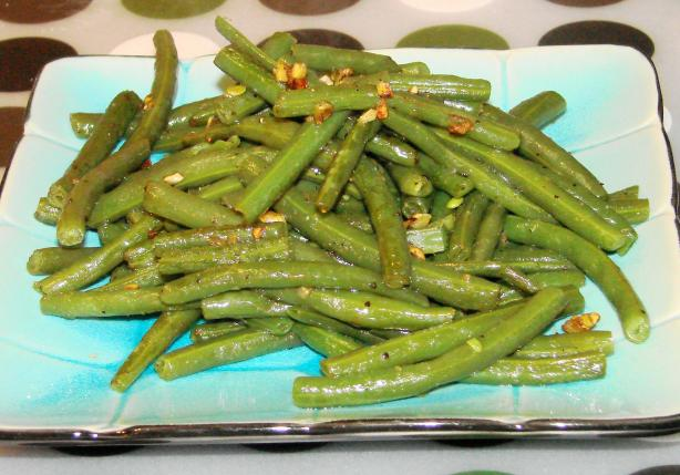 Green Beans With Lemon-Garlic Seasoning
