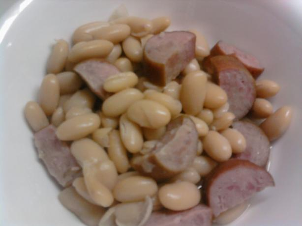 White Beans and Kielbasa