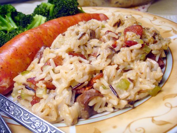 Quick Wild Rice Casserole