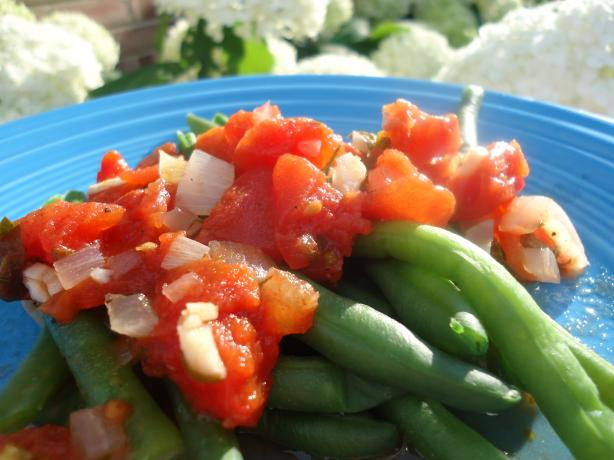 Greek Style Green Beans
