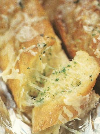 Cheesy No-Garlic Bread