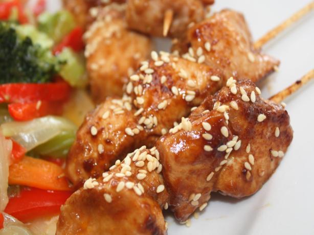 Hoisin Chicken Kebabs