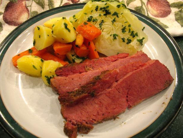 Baked Corned Beef Brisket Ala Kevin the BBQguru