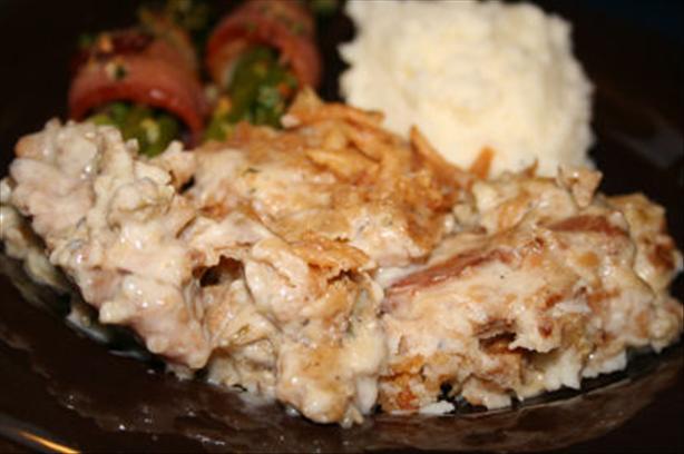 Creamy Pork Chops Casserole