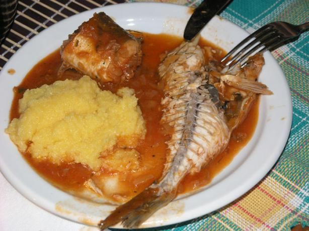 "Croatian Fish ""brodet"""