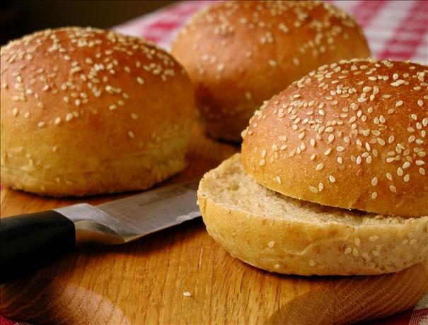 Sourdough Hamburger Buns