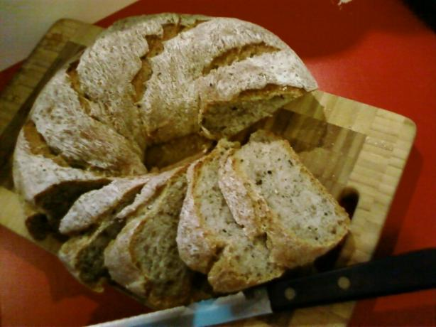 Quick Sourdough Bread - Overnight - for Your Bread Machine
