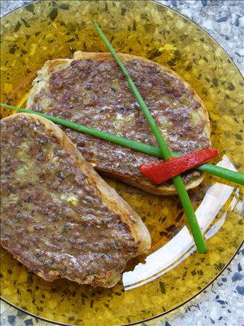 Princesses (Bulgarian Ground Meat Sandwiches)
