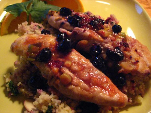 Casbah Chicken with Orange Infused Basmati Rice