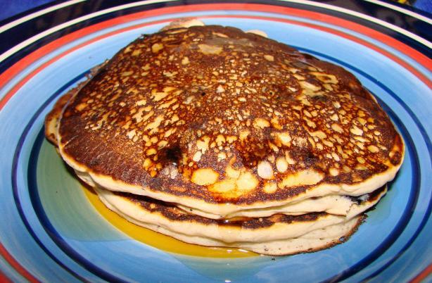 Blueberry-Sour Cream Pancakes