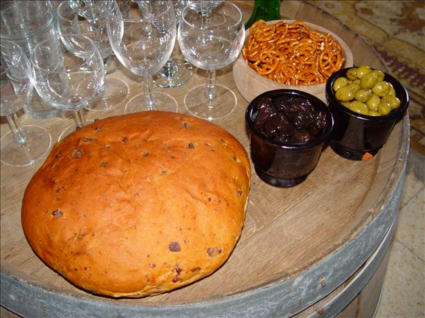 Sun-Dried Tomatoes and Asiago Cheese Bread