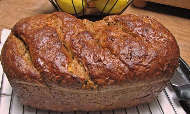 wild rice apple bread