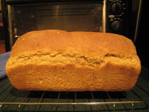 Whole Wheat and Oatmeal Bread