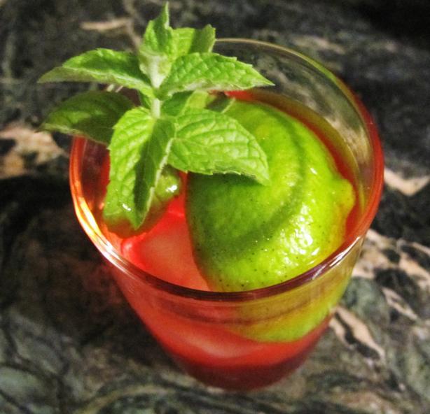 Rangoon Ruby Cocktail