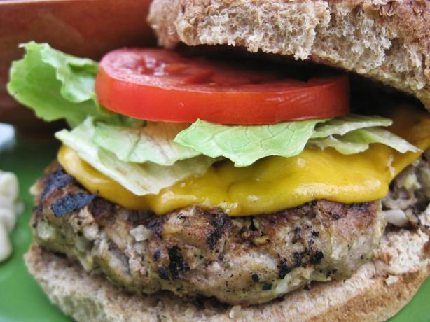 Turkey Apple Burgers