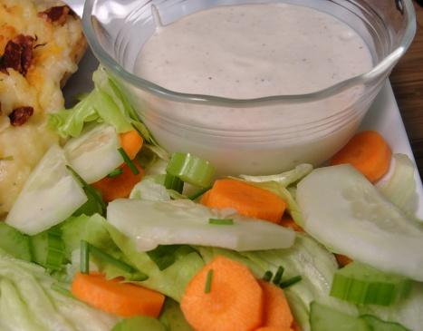 The Realtor's Parmesan Salad Dressing