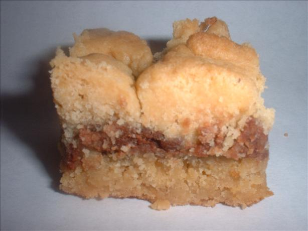 Cake Mix Peanut Butter Squares