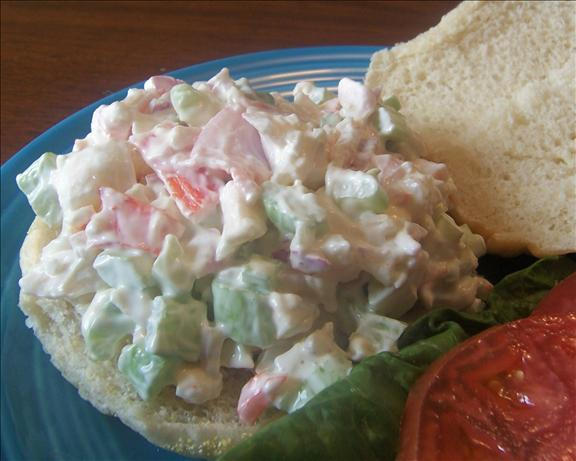 Fake Crab Salad Sandwiches