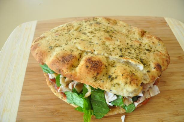 Naan Chicken Sandwich