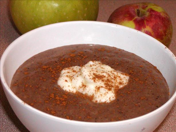 Apple Barley Pudding