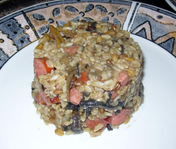 Saskatchewan Wild Rice With Mushrooms and Bacon
