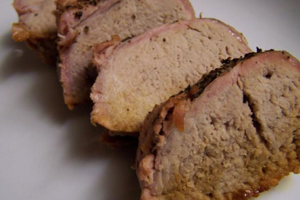 Cider-Roasted Pork Loin