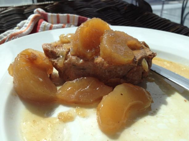 Crock Pot Pork Loin Chops With Apples