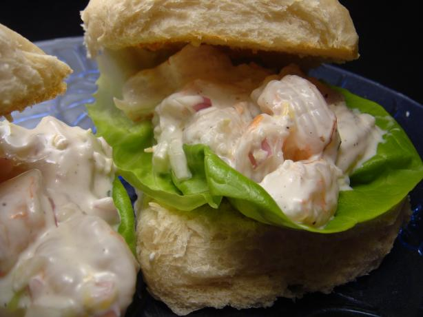 Zesty Shrimp Salad Rolls #RSC