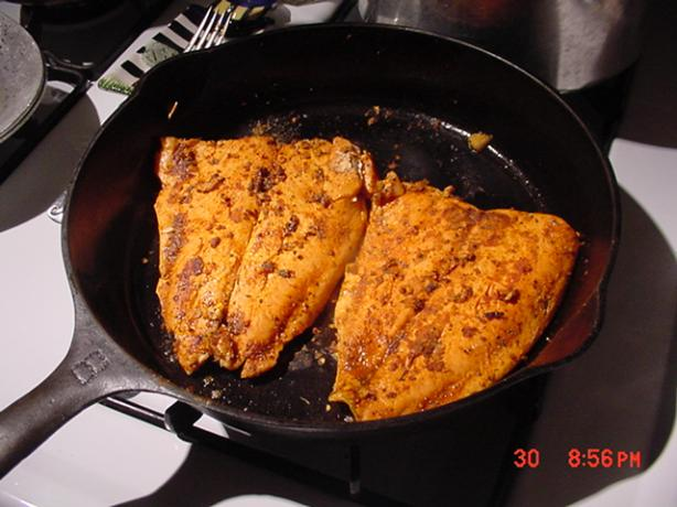 The Best Cajun Blackened Salmon Ever.