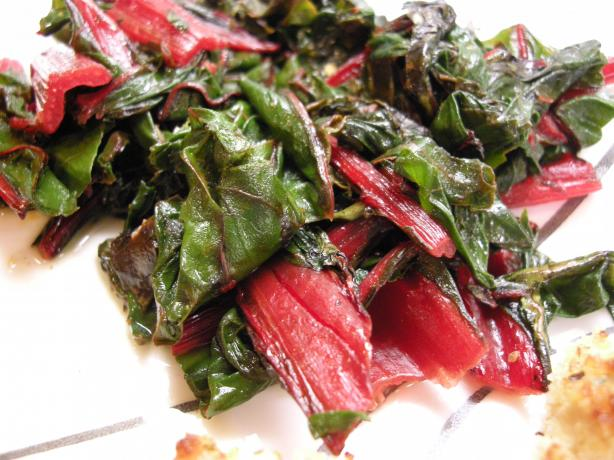 Sauteed Swiss Chard (Don't Be Afraid!!!)