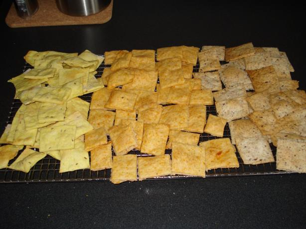 Herbed Crackers