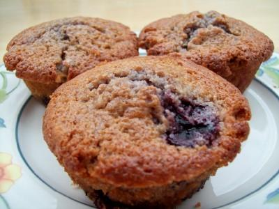 Cheery Cherry Muffins