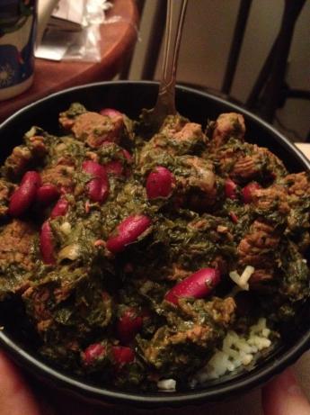 Ghormeh Sabzi - Persian Green Stew