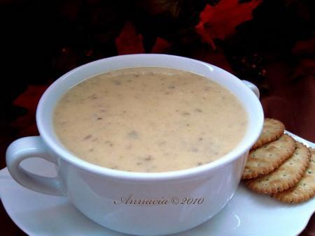 Potato Leek & Mushroom Soup