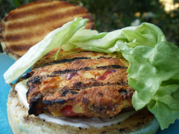 Super Healthy Tuna Burgers With Lemon Garlic Mayonnaise