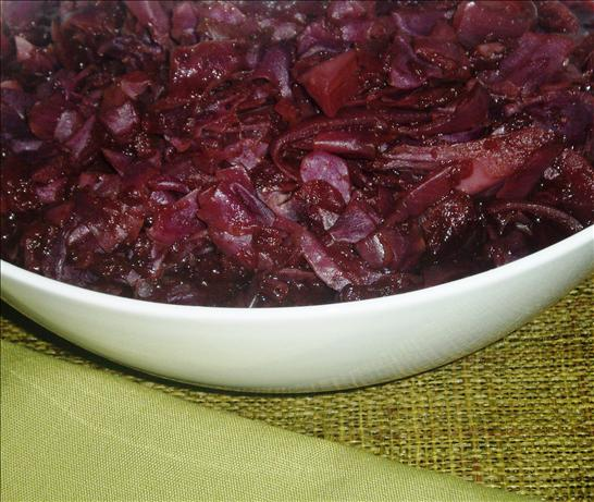Red Cabbage With Apples and Spices - Crock Pot