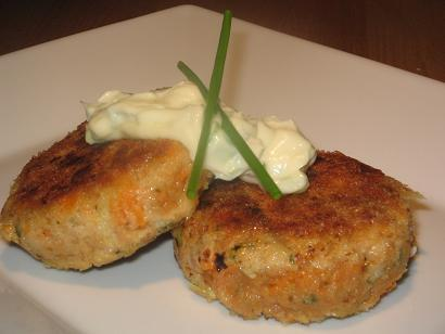 Tuna and Sweet Potato (Kumera) Patties