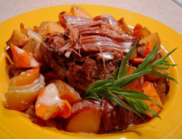 Savory Crock Pot Pot Roast