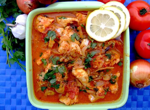 Curried Fish -(Mchuzi Wa Samaki)