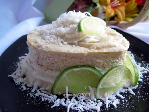 De Lime in De Coconut Cheesecake