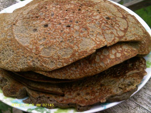 Buckwheat Pancakes - Boghvede-Pandekager