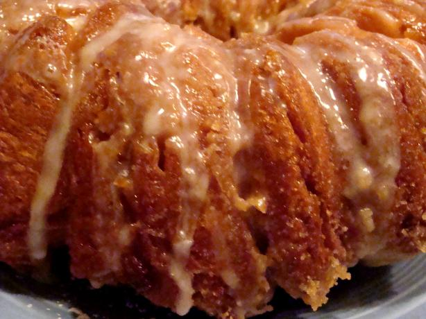 Orange Pecan Cream Cheese Pull-Apart Danish Loaf
