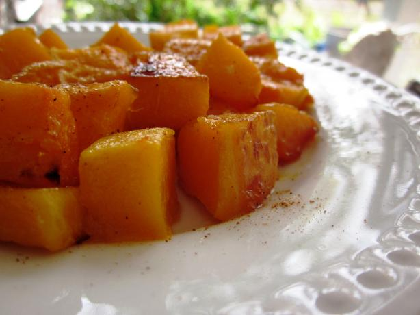 Roasted Butternut Squash in Brown Butter and Nutmeg
