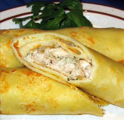 Crepes With Meat Filling - Vleespannekoekjes - Dutch Recipe