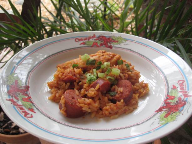 Chicken Jambalaya Packets